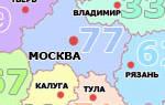 Воронеж какой регион номер